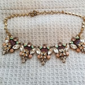 J. Crew Statement Necklace Chunky Costume